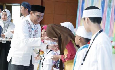 Photo of Maknai Bulan Muharram, PLN Santuni 560 Anak Yatim Dhuafa
