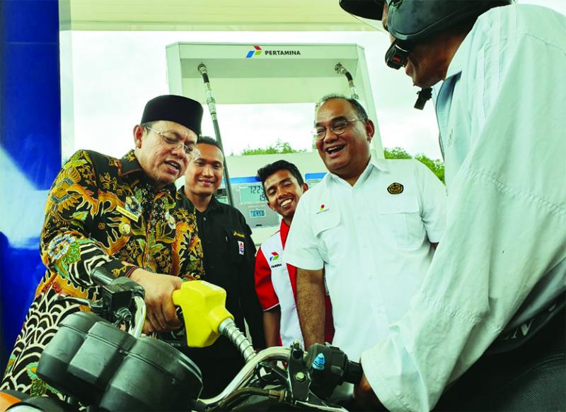 11 Jam Truk Tangki Tempuh Pelosok Aceh, Demi BBM Satu Harga