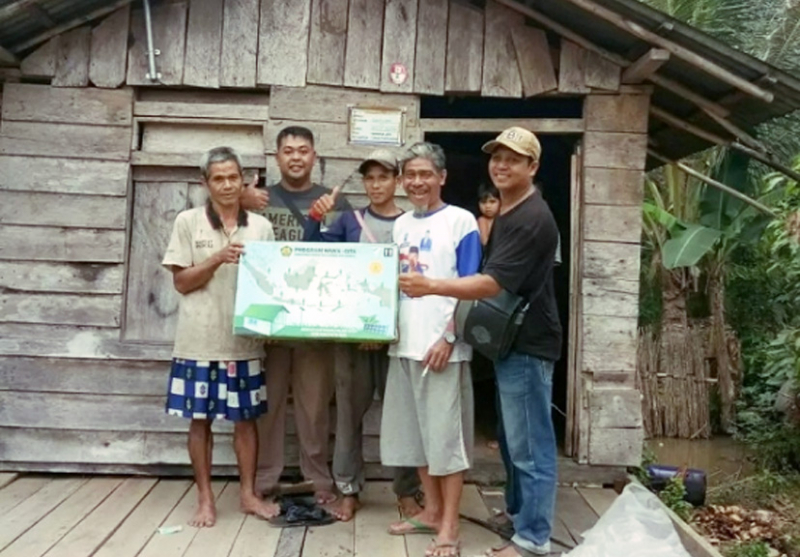 4.507 LTSHE Siap Dipasang di Tiga Kabupaten Kalbar