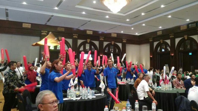 Adu Meriah Suporter Finalis IBEA 2018