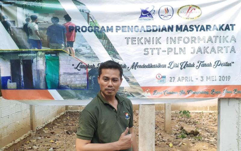 Air Bersih Untuk Desa Ciaruteun Dengan PLTS dari Tim PkM STT PLN
