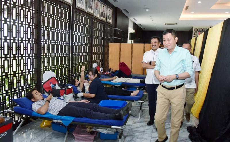 Aksi Donor KESDM Berhasil Kumpulkan 11.242 Kantong Darah
