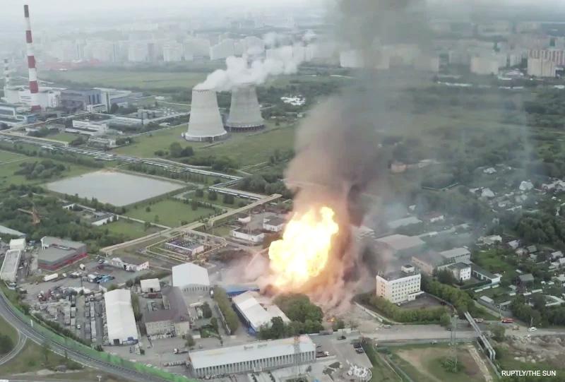Berhasil Dijinakkan, Kebakaran yang Melanda Pembangkit Listrik di Rusia