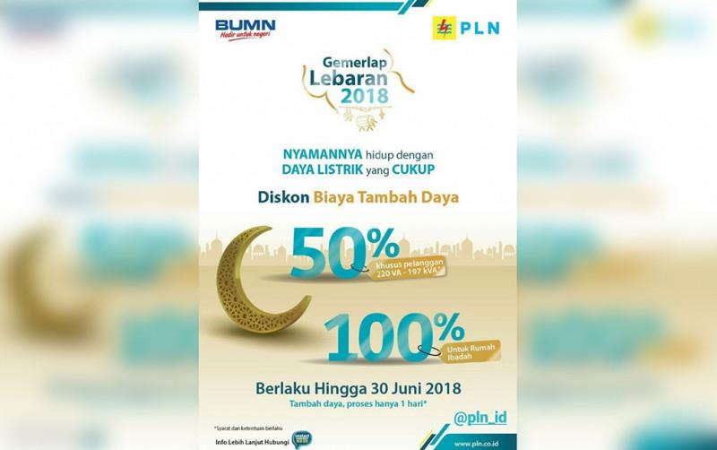 Bulan Ramadan PLN Kasih Diskon Tambah Daya Listrik