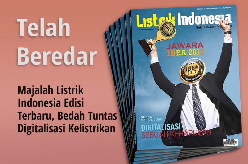 Dapatkan Segera Majalah Listrik Indonesia Terbaru Edisi 60