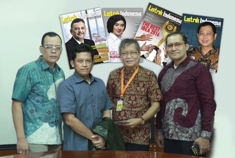 Delapan Tahun Majalah Listrik Indonesia Berkarya