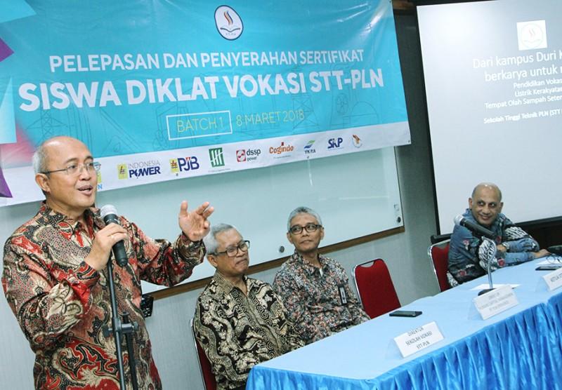 Diklat Vokasi STT PLN Mencetak SDM Unggul