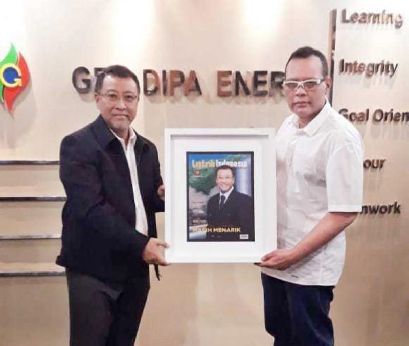 Direktur Utama Geo Dipa Energi Menerima Kunjungan Listrik Indonesia