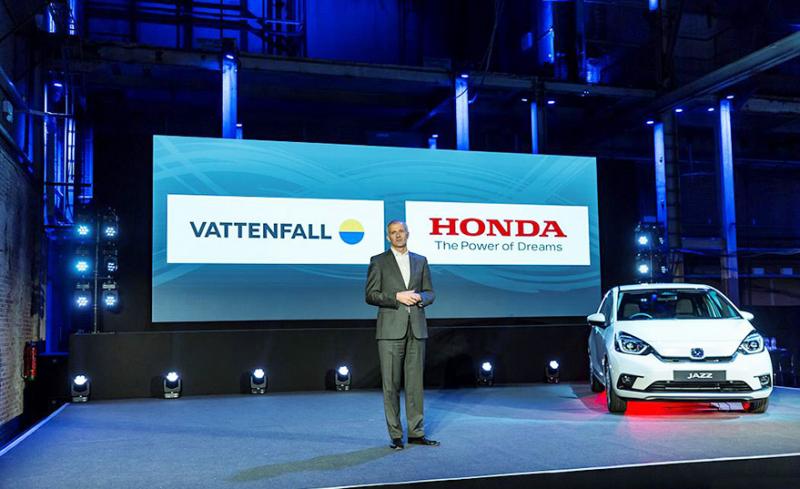 Duet Honda dan Vattenfall Dukung Energi Masa Depan