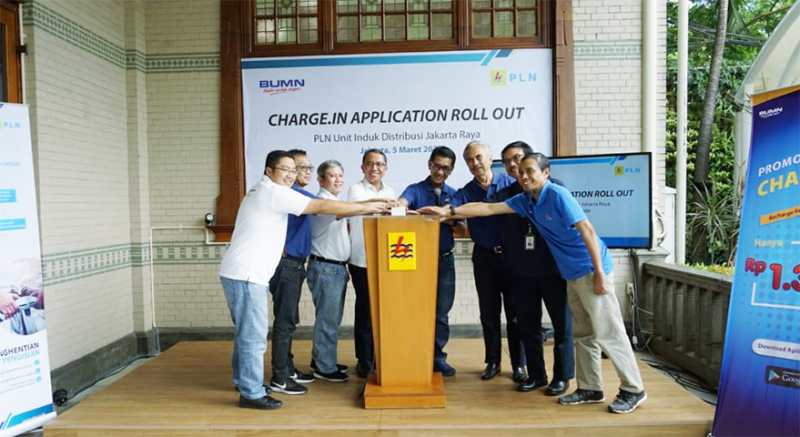 Dukung Infrastruktur Kendaraan Listrik, PLN Roll Out Aplikasi Charge.IN
