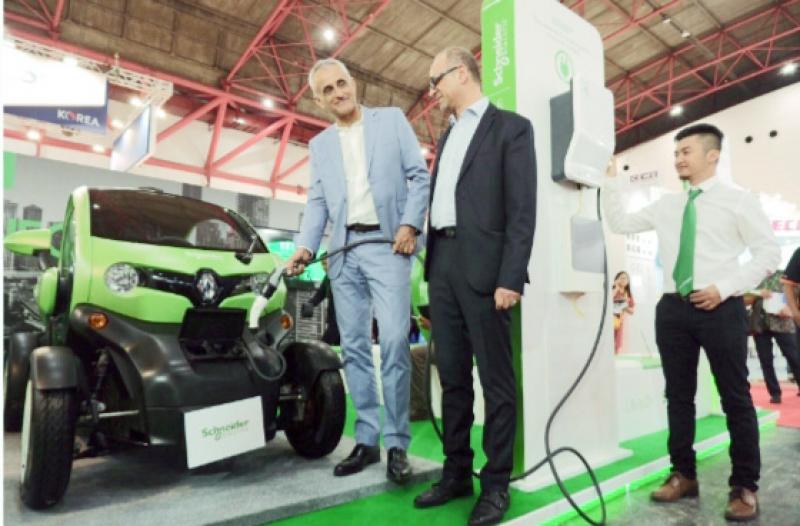 Dukung Percepatan Kendaraan Listrik, Schneider Kembangkan EV Smart Charging
