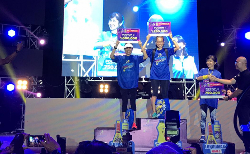 Entertain dan Sport Jadi Daya Tarik Indonesia Night Run