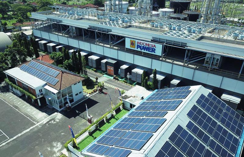 Indonesia Power Resmikan PLTS Atap di Bali