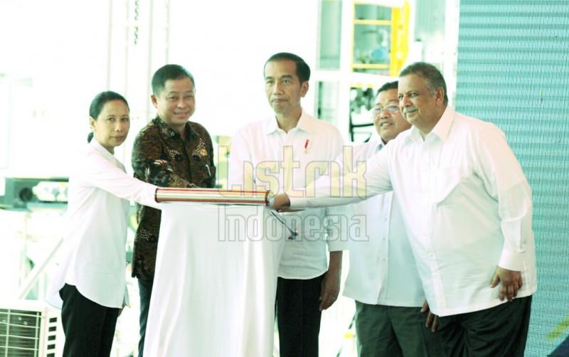 Inilah PLTG yang Diresmikan Jokowi