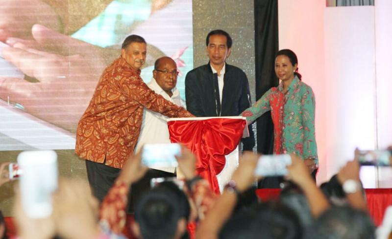 Jokowi Resmikan Infrastruktur Kelistrikan Papua dan Papua Barat