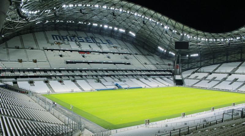 Keren, LED Canggih Terpasang di Markas Olympique Marseille