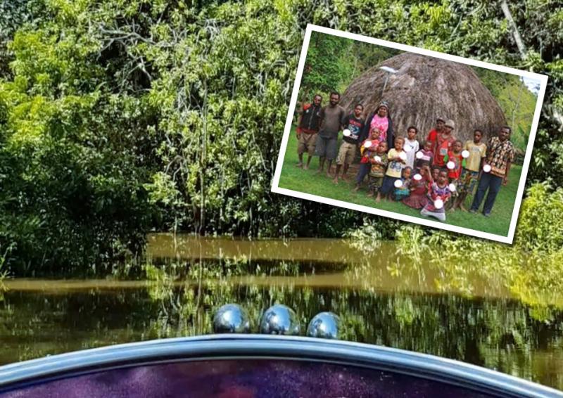 Kisah Riyan Menembus Belantara Demi Cahaya Untuk Papua