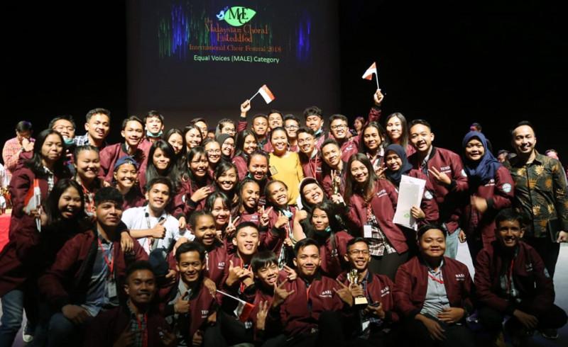 Paduan Suara STT PLN Borong Gelar di Malaysia