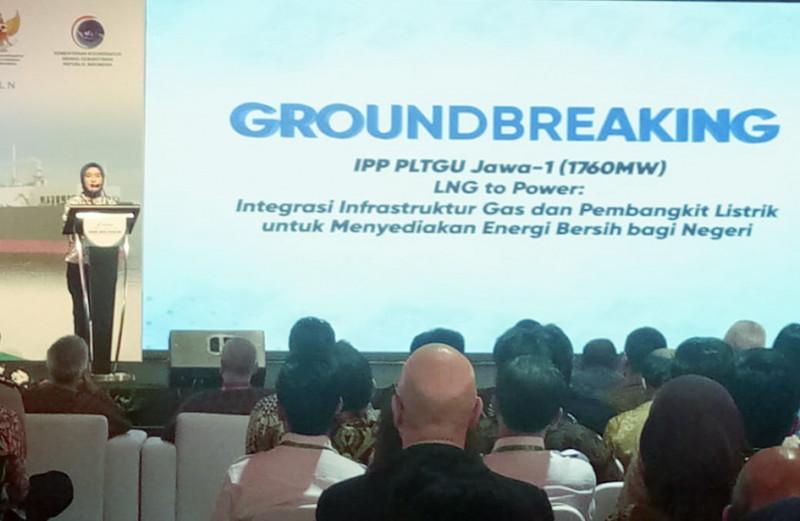 Pembangunan PLTGU Jawa 1 Resmi Dimulai