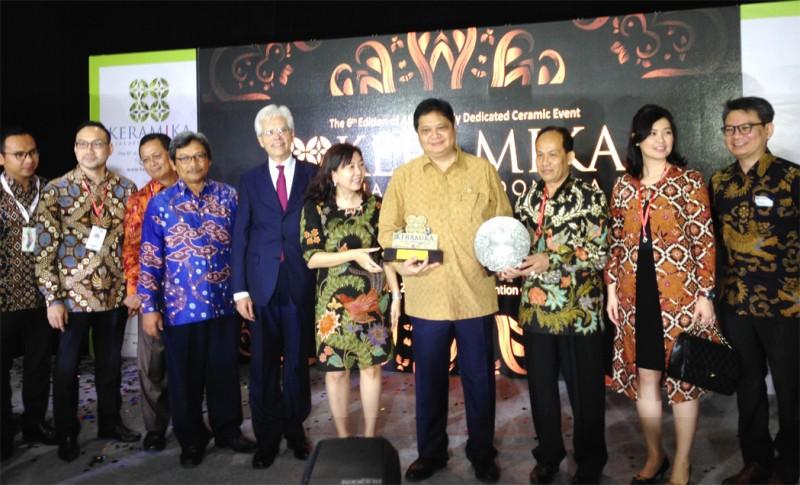 Pemerintah Dukung Industri Keramik Bersaing di Pasar Global