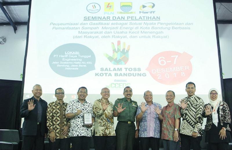 Pengolahan Energi Sampah Akan Diujicobakan di Bandung