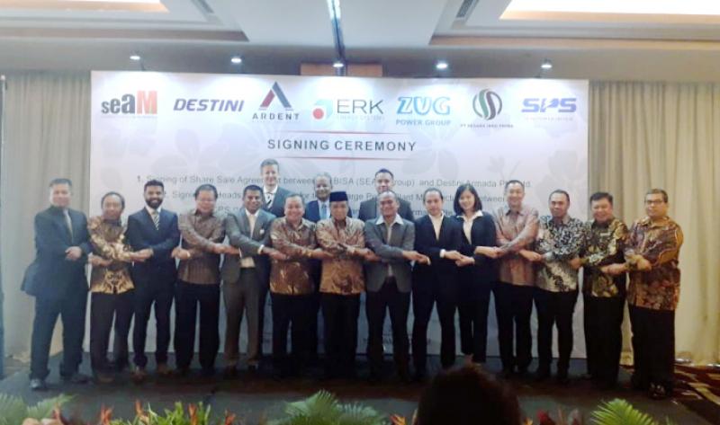 Perkuat Lini Bisnis, SEAM Group Tandatangani 5 Perjanjian Kerjasama