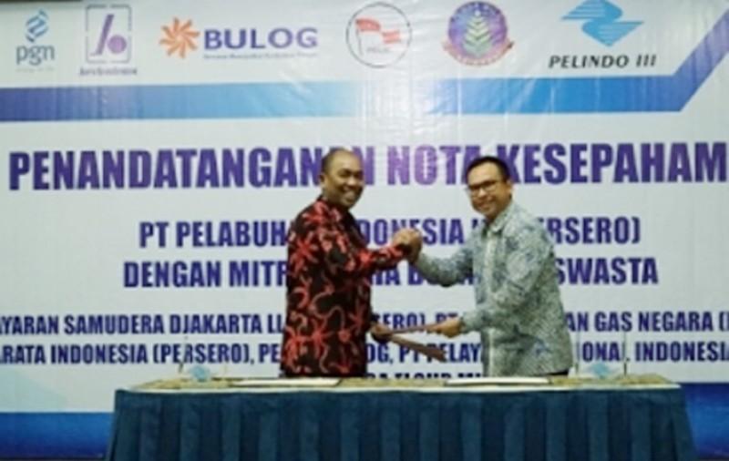 PGN Suplai Gas Ke Pelindo III