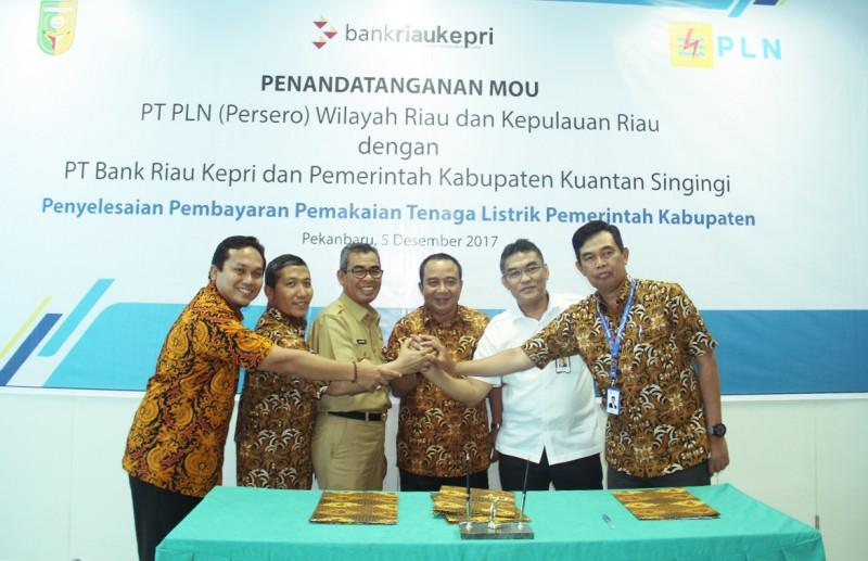 PLN Jalin Kerjasama Dengan Pemkab Kuantan Singingi, Riau