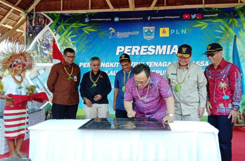 PLN Listriki Tiga Desa di Pulau Siberut, Mentawai