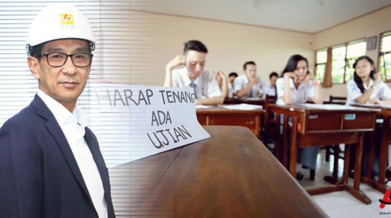 PLN Siaga Pasokan Listrik Ujian Nasional