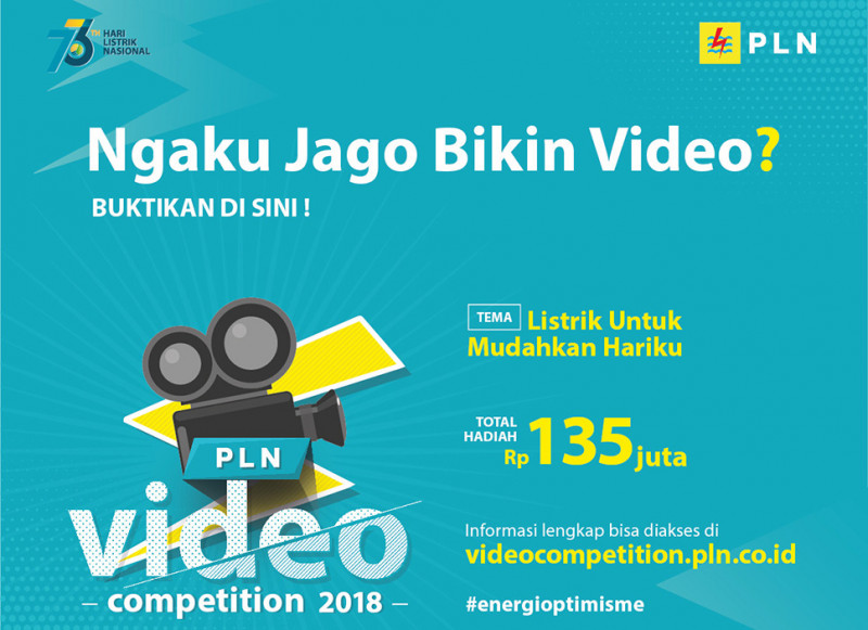 PLN Video Competition 2018 Hadir Kembali