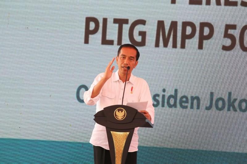 Presiden Jokowi Resmikan PLTG MPP 500 MW