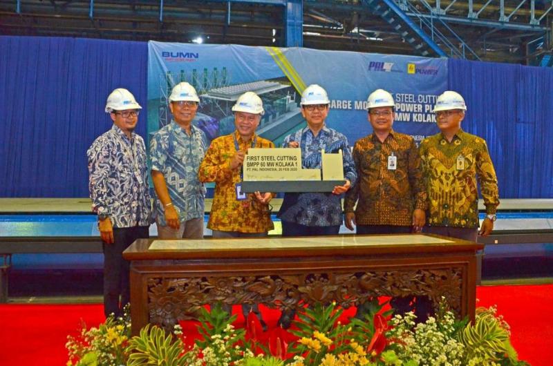 PAL : Proyek Pembangunan BMPP Masuki Tahapan First Steel Cutting