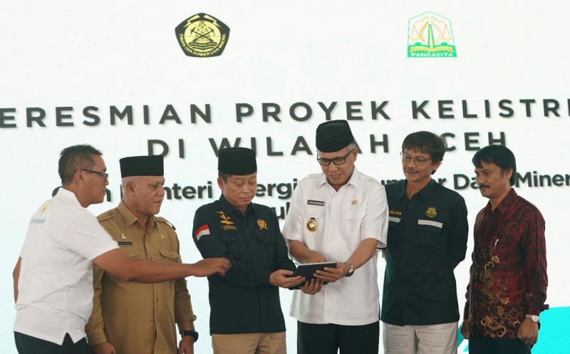 Resmikan 3 GI dan SUTT di Aceh, PLN Hemat Rp 265,5 Miliar per Tahun