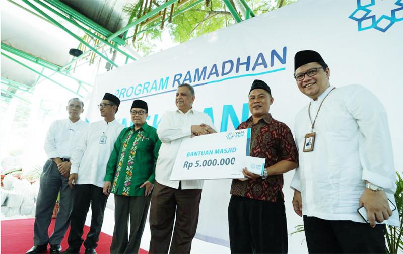 Sambut Ramadhan, YBM PLN Berbagi Kebahagiaan Dengan Kaum Dhuafa