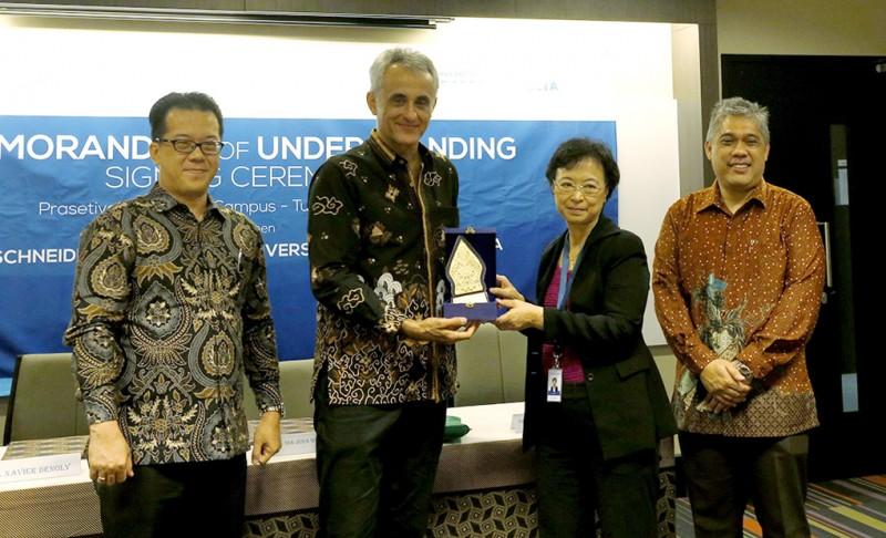 Schneider: Kerjasama Indonesia-Perancis Kembangkan Tenaga Ahli Kelistrikan Indonesia