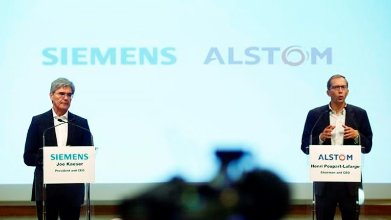Siemens dan Alstom Sesalkan Larangan Penggabungan Bisnis Mobilitas