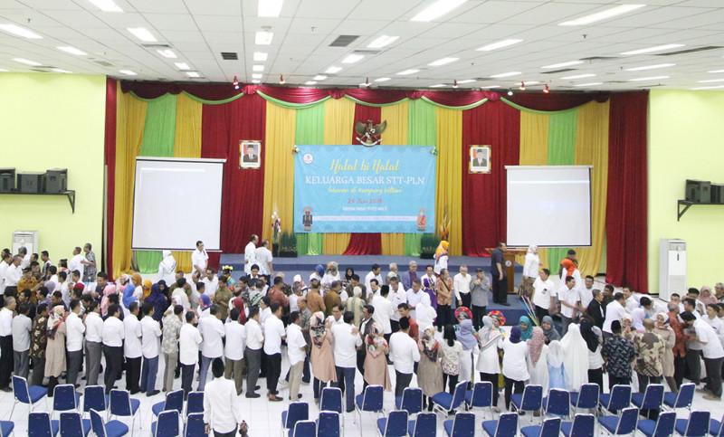 STT-PLN Gelar Halal bi Halal Dengan Dosen dan Karyawan