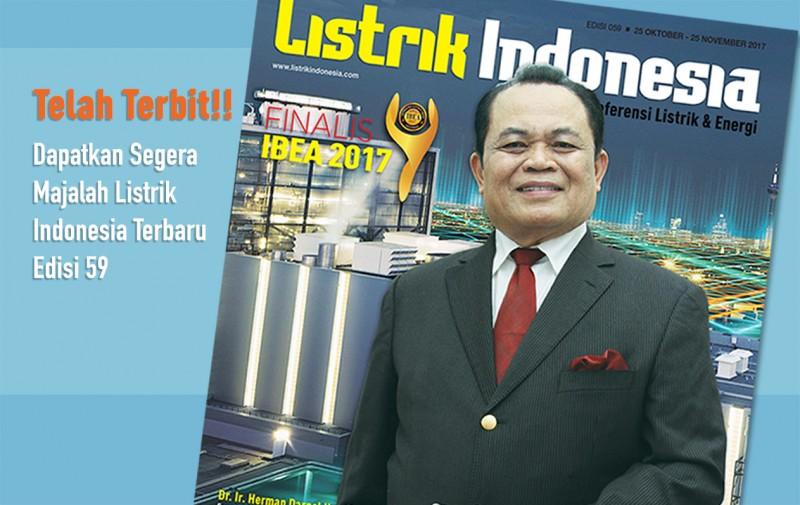 Telah Beredar! Majalah Listrik Indonesia Edisi 59
