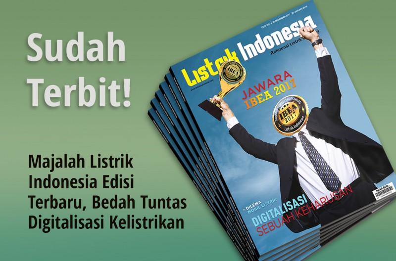 Telah Beredar! Majalah Listrik Indonesia Terbaru Edisi 60