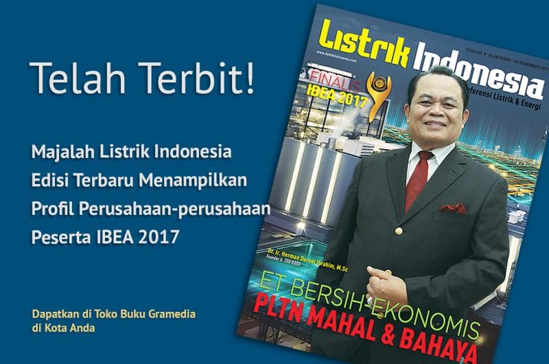 Telah Terbit! Dapatkan Majalah Listrik Indonesia Edisi 59