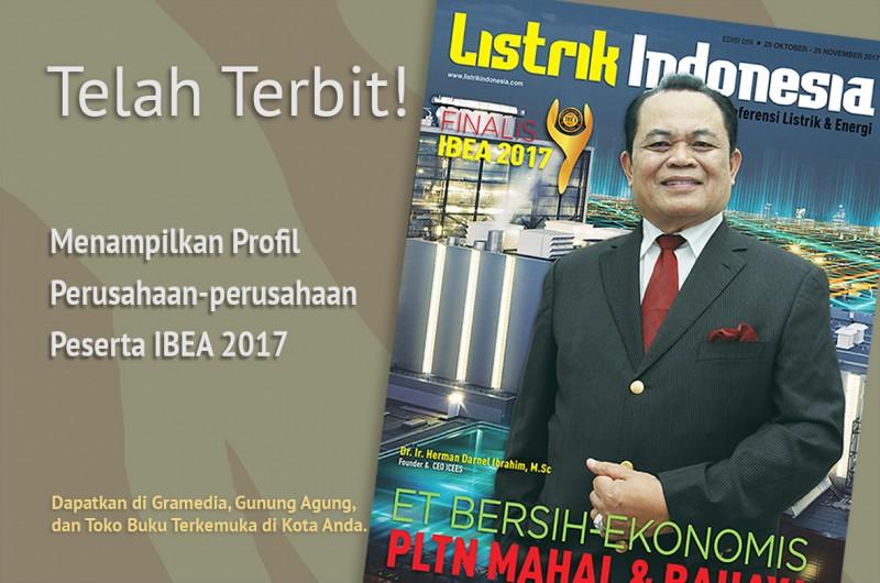 Telah Terbit! Dapatkan Segera Majalah Listrik Indonesia Terbaru!