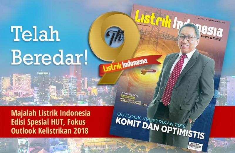 Telah Terbit! Majalah Listrik Indonesia Edisi Spesial HUT