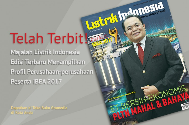 Telah Terbit! Majalah Listrik Indonesia Terbaru Edisi 59