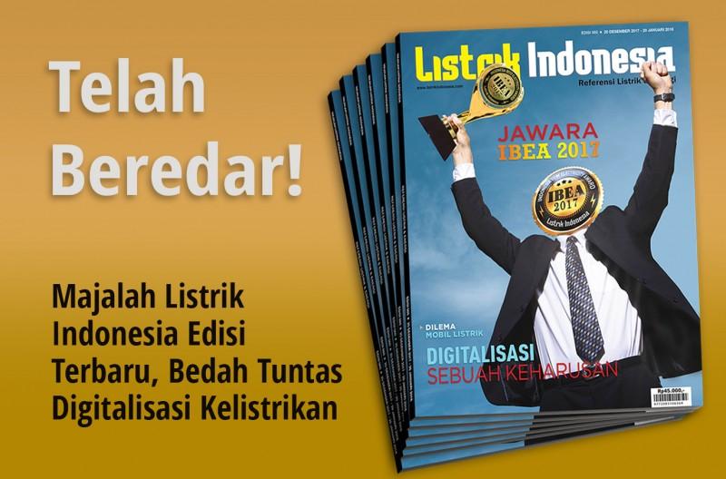 Telah Terbit! Majalah Listrik Indonesia Terbaru Edisi 60