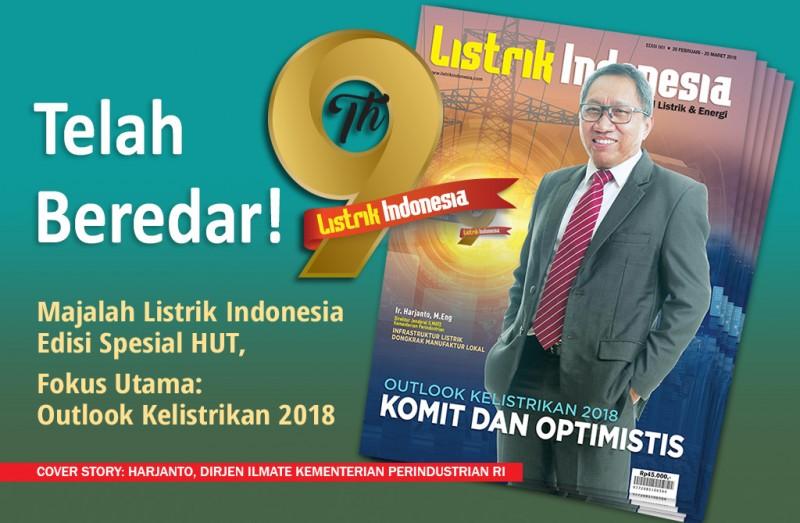 Telah Terbit! Majalah Listrik Indonesia Terbaru Edisi Spesial Ulang Tahun
