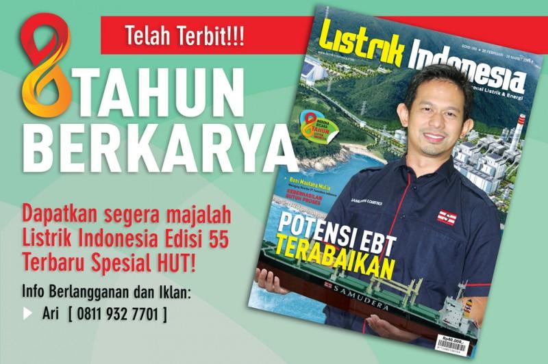 Telah Terbit!! Majalah Listrik Indonesia Terbaru Spesial HUT
