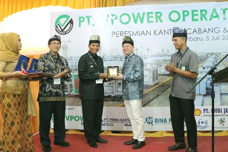 VPower Group Resmikan Kantor Cabang Pekanbaru