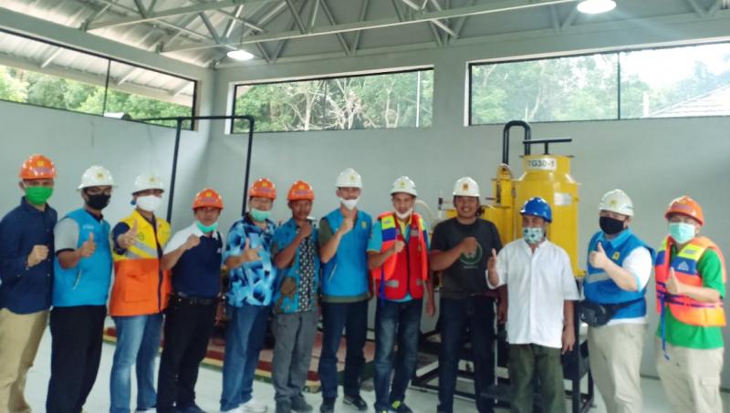 Waste To Energy di Pulau Tinggi, Kerja Sama IT PLN dan PLN UIW Babel