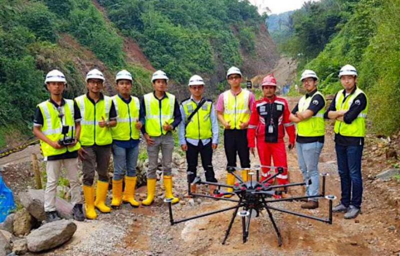 Wijaya Karya Manfaatkan Teknologi Drone untuk Proyek Konstruksinya